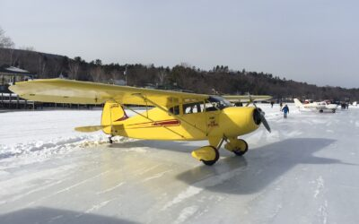 Great News Alton Bay Ice Runway NOW OPEN!
